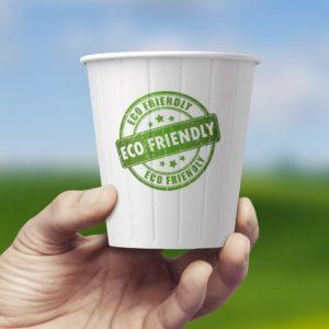 bio paper cup; kubek papierowe bio